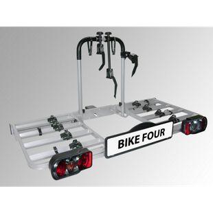Eufab BIKE FOUR Fahrradheckträger für Anhängekupplung