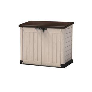 """Keter """"Store it Out"""" Max Aufbewahrungsbox, beige/braun"""