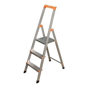 """Krause """"Solidy"""" Stufen-Stehleiter, 3 Stufen"""