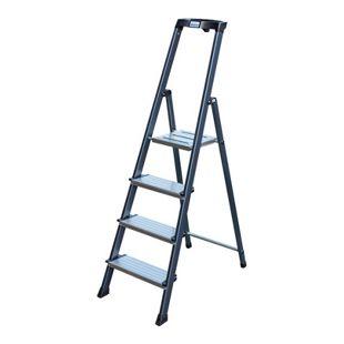 """Krause """"Securo"""" Stufen-Stehleiter, 4 Stufen"""