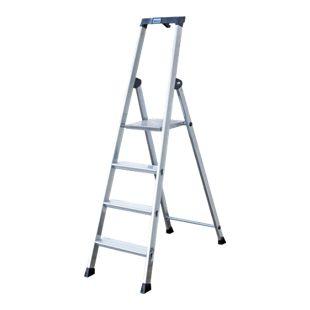 """Krause """"Solido"""" Stufen-Stehleiter, 4 Stufen"""