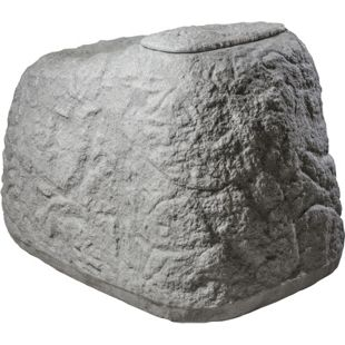 "GreenLife Dekorregenspeicher ""Findling"" 500 L granitgrau"