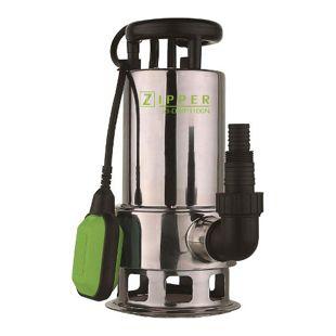 Zipper ZI-DWP1100N Niro Schmutzwasser-Pumpe