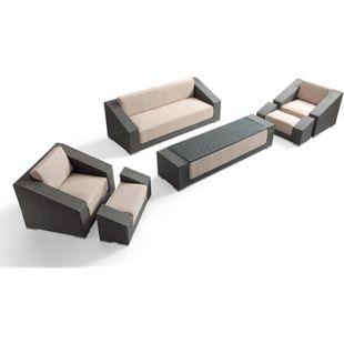 Luxus Polyrattan Loungegruppe Grande Terre