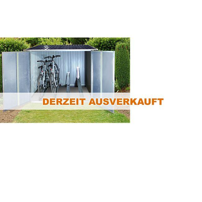tepro 7165 fahrradbox f r bis zu 4 fahrr der online kaufen. Black Bedroom Furniture Sets. Home Design Ideas