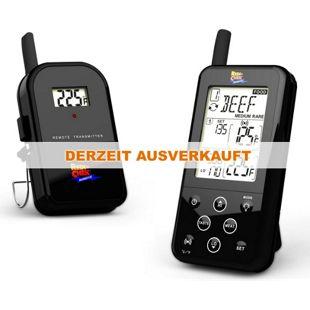 Maverick ET-733 Barbecue Funk-Thermometer Set, schwarz