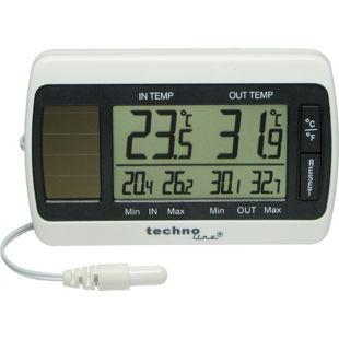 TechnoLine WS 7008 Solar-Thermometer mit Kabel