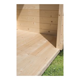 Woodfeeling 19 mm Fußboden für Hundezwinger 1