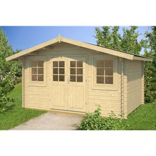 Tene Kaubandus Hoby Nervion 28 mm Gartenhaus inkl. Fußboden