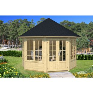 Tene Kaubandus Emma 4 F 40 mm Gartenpavillon inkl. Fußboden