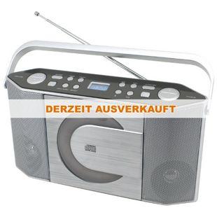 Soundmaster RCD1750SI Stereo UKW/CD PLL-Kofferradio mit MP3-CD