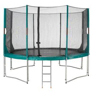 Etan High Flyer Trampolin-Set 370 cm incl. Sicherheitsnetz und Leiter