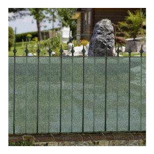 Windhager Sichtschutzblende 500 x 100 cm grün