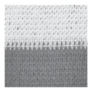 Windhager Sylt Balkonblende 500 x 90 cm grau/weiß