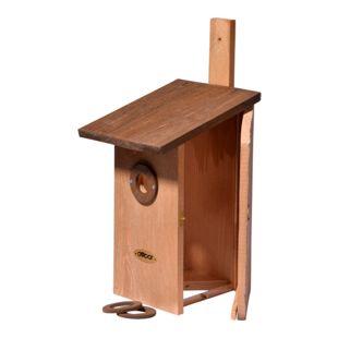 Dobar Einblick Beobachtungs-Vogelnistkasten, braun