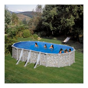 Summer Fun Valencia Beckenset oval 610 x 375 x 120 cm