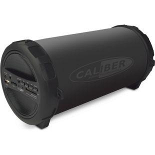 Caliber Tragbarer Bluetooth Röhren Lautsprecher mit integrierter Batterie - HPG 407BT