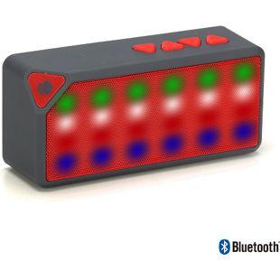 NGS Bluetooth Lautsprecher Roller Flash, Rot