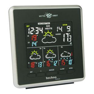 TechnoLine WD 4026 WetterDirekt Station mit farbigem Negativ-Display