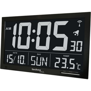 TechnoLine WS 8007 Funkwanduhr mit Jumbo LCD