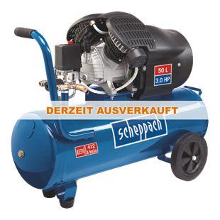 Scheppach HC53dc Doppelzylinder-Kompressor