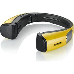 Spiffy iStage faltbarer Bluetooth Lautsprecher - gelb