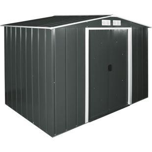 Tepro Metallgerätehaus Eco 8x6 anthrazit