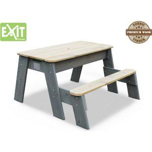 EXIT Aksent Sand-, Wasser- und Picknicktisch, 1 Sitzfläche