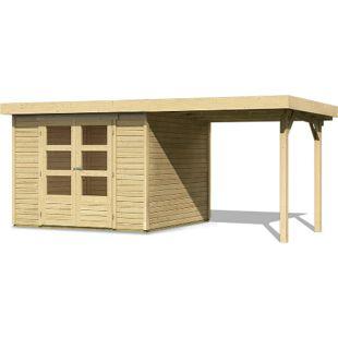 Woodfeeling Askola 4 Gartenhaus mit Schleppdach