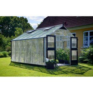 Juliana Premium 13,0 m² Gewächshaus mit 10 mm Hohlkammerplatten