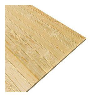 Woodfeeling Fußboden für Sockelmaß 370 cm x 370 cm