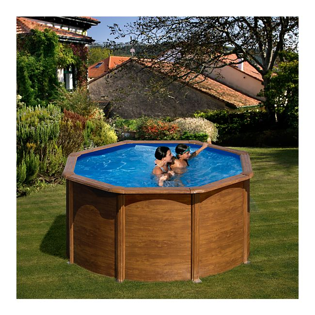 gre galapagos dream pool rund 240 x 120 cm stahlwandbecken set online kaufen. Black Bedroom Furniture Sets. Home Design Ideas