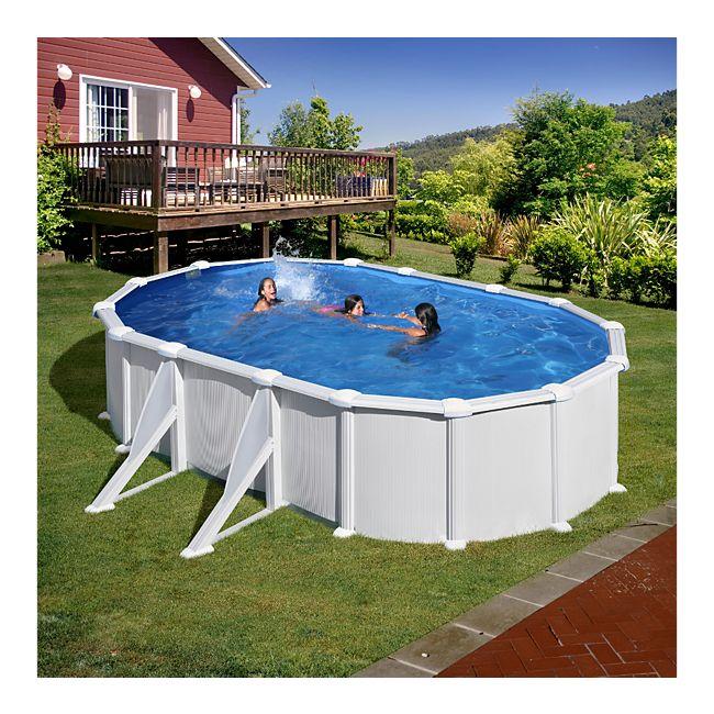 Gre stahlwandbecken set dream pool atlantis 610 x 375 x for Stahlwandbecken pool