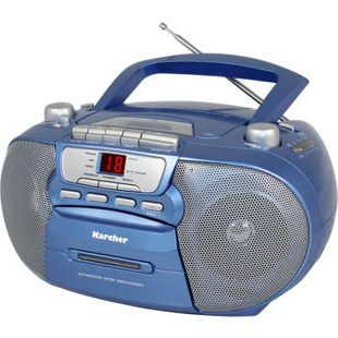 Karcher RR 5040-C Oberon Top-Loading-CD-Player - blau