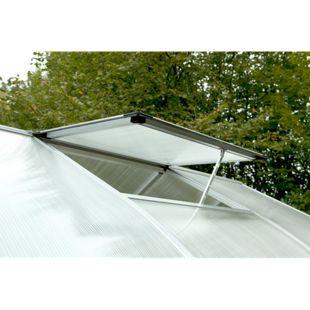 KGT Dachfenster inkl. autom. Fensterheber für Gewächshaus Rose/Orchidee/Lilie, pressblank