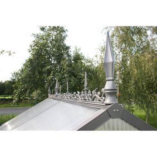 KGT Firstverzierung für Gewächshaus Typ II, pressblank