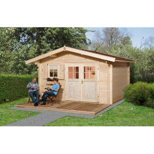 Weka Gartenhaus 136 Gr.1, 45 mm, V60, DT, EF