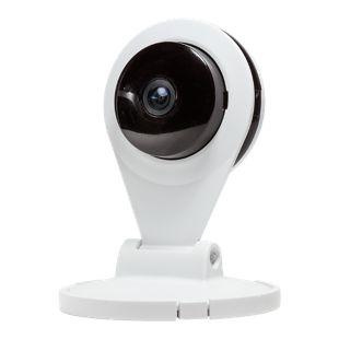 LogiLink WC0044 WLAN Indoor HD IP Kamera mit Nachtsicht, Bewegungsmelder & 2-Way Audio