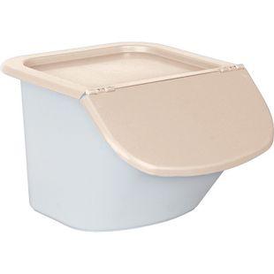 BRB Zutatenspender / Vorrats-Container / Abfallsammler 15 l beige