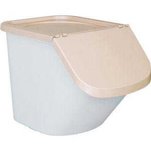 BRB Zutatenspender / Vorrats-Container / Abfallsammler 40 l beige