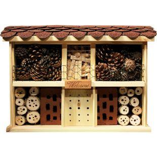 Dobar Landhaus Komfort Insektenhotel, inkl. Balkon und Terrasse