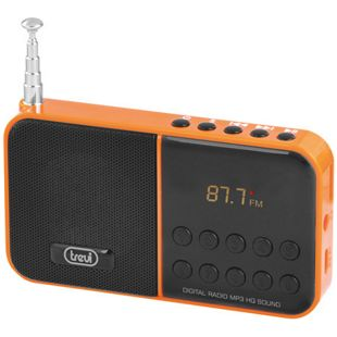 Trevi DR 740 SD portables AM/FM-Radio - orange