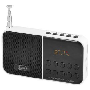 Trevi DR 740 SD portables AM/FM-Radio - weiß