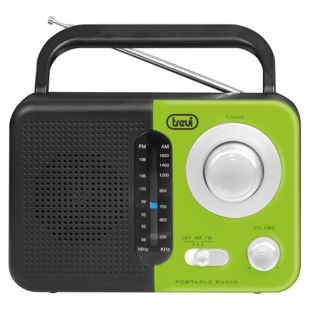 Trevi RA 768 S portables 2 Band AM/FM-Radio - grün