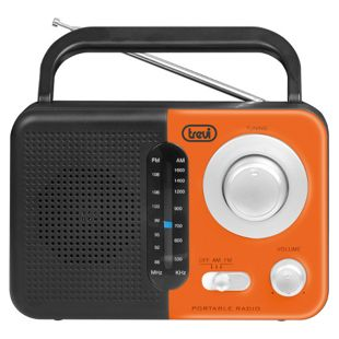 Trevi RA 768 S portables 2 Band AM/FM-Radio - orange
