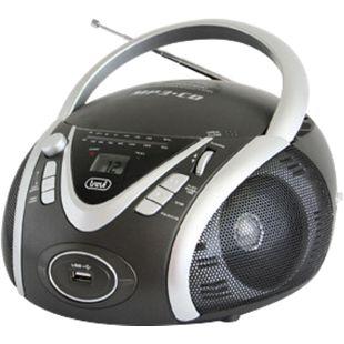 Trevi CMP 542 Boombox mit CD, MP3, FM-Radio - grau