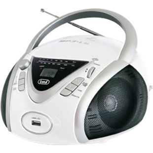 Trevi CMP 542 Boombox mit CD, MP3, FM-Radio - weiß