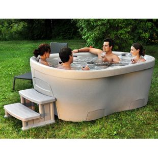 Interline Spa Roto Molded, 4-6 Personen