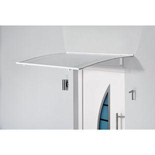 Gutta Basic Pultvordach, weiß, 140 x 90 cm