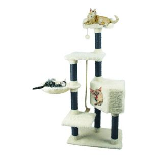 Heim Kratzbaum White Cat 2